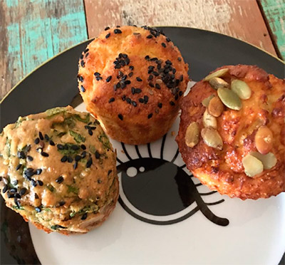 Mini Muffins Salgado Low Carb